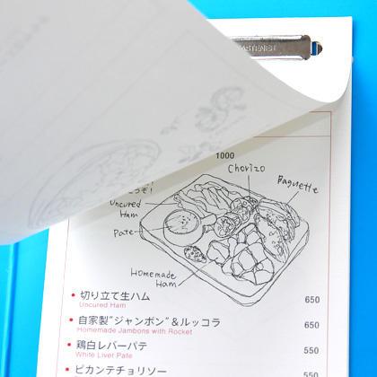 GMC&GRILL 虎ノ門 / メニューデザイン