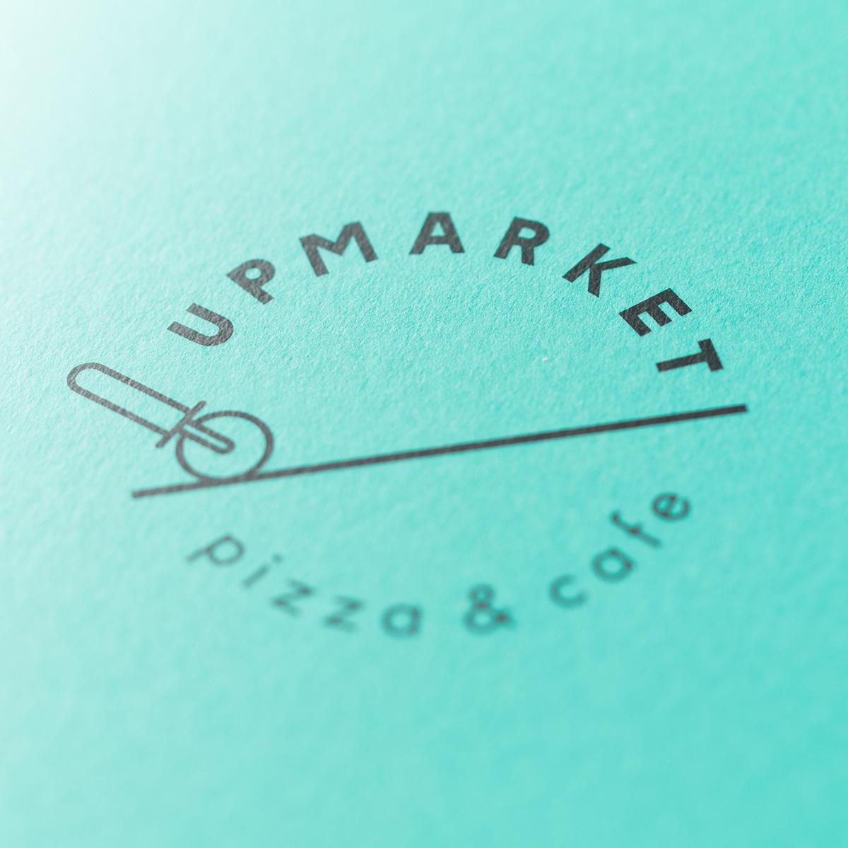 UP MARKET/ メニューデザイン