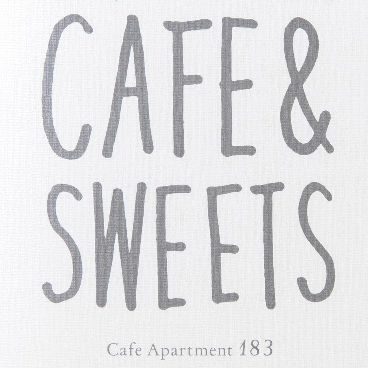 Cafe Apartment183/ メニューデザイン