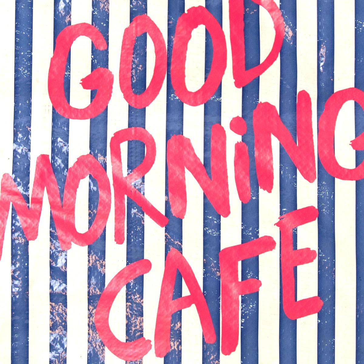 GOOD MORNING CAFE/ノベルティーデザイン(エコバッグ)